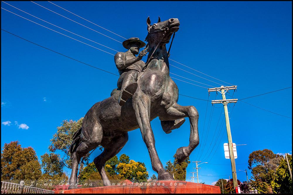 Капитан Молния, Captain Thunderbolt, Уралла, Uralla, Новая Англия, New England, Новый Южный Уэльс, New South Wales, NSW, Австралия, Australia