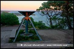 Основание от радара, Вершина мыса Томари, Tomaree Head, Бухта Нельсона, Nelson Bay, Порт Стивенс, Порт Стефенс, Port Stephens, Новый Южный Уэльс, NSW, Австралия, Australia