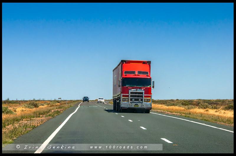 Трасса Стюрт, Sturt HWY, Новый Южный Уэльс, New South Wales, Австралия, Australia
