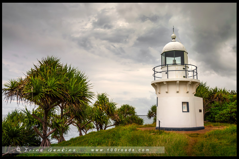 Fingal Head Lighthouse, Твид Хедс, Tweed Heads, Новый Южный Уэльс, New South Wales, Австралия, Australia