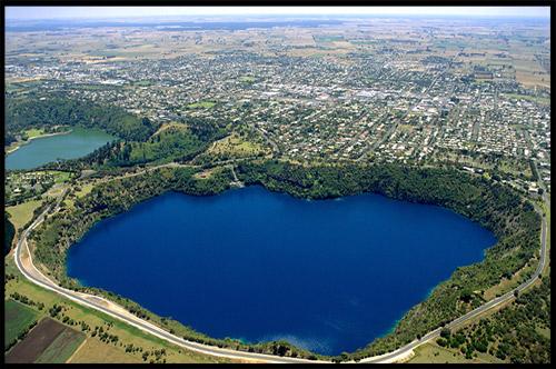 Голубое Озеро, Blue Lake, Маунт Гембер, Mount Gambier, Южная Австралия, South Australia, SA, Австралия, Australia