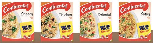 Сублимированный продукт от фирмы Continental, Австралия, Australia