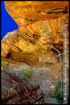 Пещера Рук, Manja Shelter, Парк Грэмпианс, Grampians Natonal Park, Виктория, Victoria, VIC, Австралия, Australia