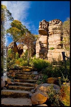 Прохладное место, Cool Chamber, Страна чудес, Wonderland, Парк Грэмпианс, Grampians Natonal Park, Виктория, Victoria, VIC, Австралия, Australia
