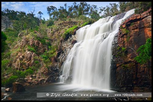 Водопад Маккензи, MacKenzie Falls, Парк Грэмпианс, Парк Грэмпианс, Grampians Natonal Park, Виктория, Victoria, VIC, Австралия, Australia