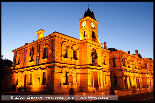 Здание Муниципалитета, Town Hall, City Hall,  Маунт Гембер, Mount Gambier, Южная Австралия, South Australia, SA, Австралия, Australia
