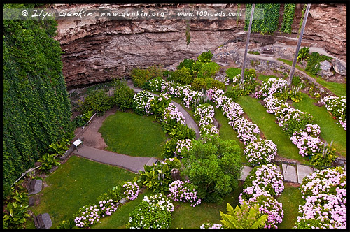 Пещерный Сад, Cave Gardens, Маунт Гембер, Mount Gambier, Южная Австралия, South Australia, SA, Австралия, Australia