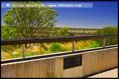 Мост Кингстон, Kingston Bridge, Кингстон на Мюррее, Kingston on the Murray, Мюррей, Murray, Южная Австралия, South Australia, SA, Австралия, Australia