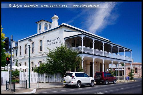 Первоклассный Дубовый Отель Хейворда, Heywards Royal Oak Hotel, Пенола, Penola, Южная Австралия, South Australia, SA, Австралия, Australia