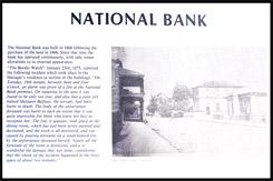 Историческая справка о Здании отделения Национального Банка в Пеноле, Penola National Bank Building, Пенола, Penola, Южная Австралия, South Australia, SA, Австралия, Australia