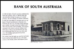 Историческая справка о Здании отделения Южно-Австралийского Банка в Пеноле, Bank of South Australia, Пенола, Penola, Южная Австралия, South Australia, SA, Австралия, Australia