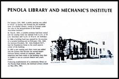 Бывший Институт Механики и Библиотека, Old Penola Mechanics Institute and Public Library, Пенола, Penola, Южная Австралия, South Australia, SA, Австралия, Australia