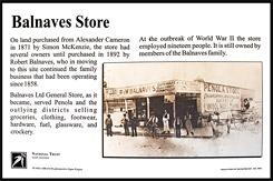 Историческая справка о Магазине Роберта Балнавс, Balnaves Store, Пенола, Penola, Южная Австралия, South Australia, SA, Австралия, Australia