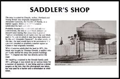 Историческая справка о Магазине Саддлера, Saddlers Shop, Пенола, Penola, Южная Австралия, South Australia, SA, Австралия, Australia