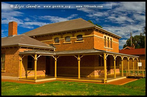 Здание суда Вентворт, Wentworth Courthouse, Вентворт, Wentworth, Новый Южный Уэльс, New South Wales, NSW, Австралия, Australia