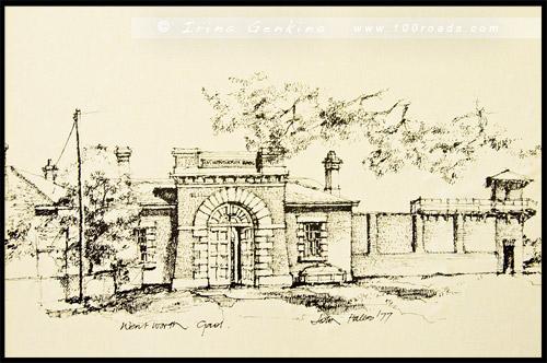Старая тюрьма Вентворт, Old Wentworth Gaol, Вентворт, Wentworth, Новый Южный Уэльс, New South Wales, NSW, Австралия, Australia