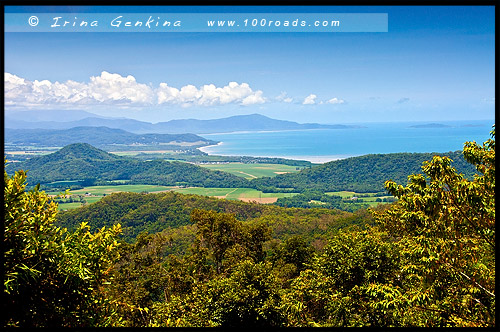 Обзорная площадка Лиона, Lyons Lookout, Queensland, Квинсленд, QLD, Австралия, Australia