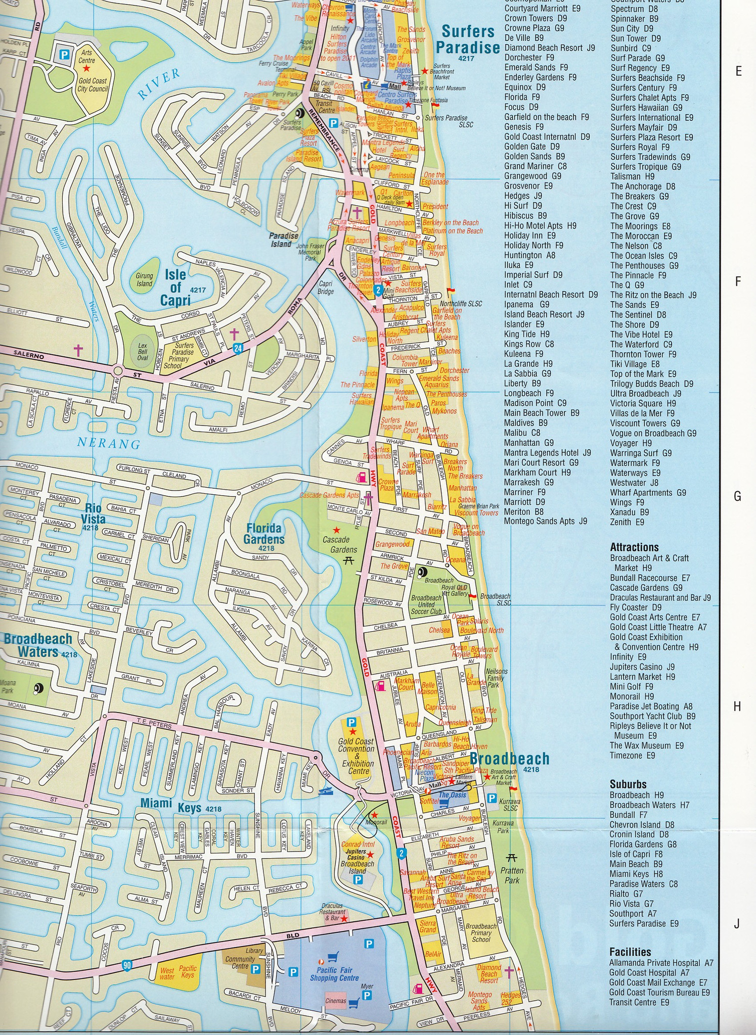 Index of imagesaustraliaqldgoldcoast – Gold Coast Australia Map