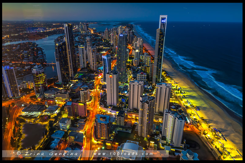 Золотое побережье, Gold Coast, Квинсленд, Queensland, Австралия, Australia