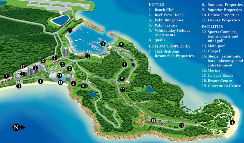 Остров Гамильтон, Hamilton Island, архипелага Дня Святой Троицы, Whitsunday, Квинсленд, Queensland, Австралия, Australia