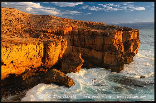 Мыс Бауер, Cape Bauer, Стрики Бей, Streaky Bay, Полуостров Эйр, Eyre Peninsula, Южная Australia, South Australia, Австралия, Australia