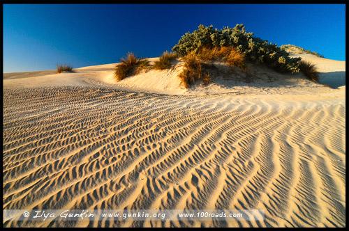 Дюны, Coffin Bay Dunes, Коффин-Бей, Coffin Bay, Полуостров Айри, Eyre Peninsula, Южная Australia, South Australia, Австралия, Australia