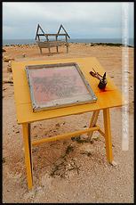 Инсталяция на Elliston_s Great Ocean Drive, Полуостров Эйр, Eyre Peninsula, Южная Australia, South Australia, Австралия, Australia