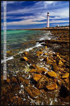 Маяк Низкая Точка, Point Lowly Lighthouse, Полуостров Айри, Eyre Peninsula, Южная Australia, South Australia, Австралия, Australia