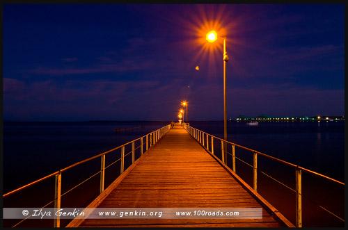 Городской пирс, Порт Линкольн, Port Lincoln, Полуостров Айри, Eyre Peninsula, Южная Australia, South Australia, Австралия, Australia