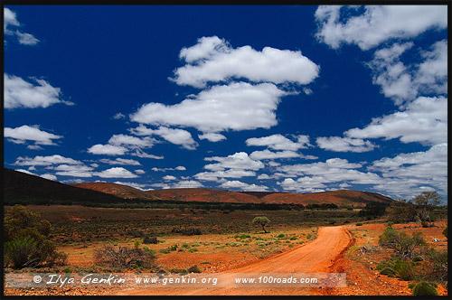 Yardea Road, Горная цепь Гавлер, Gawler Ranges, Полуостров Эйр, Eyre Peninsula, Южная Australia, South Australia, Австралия, Australia