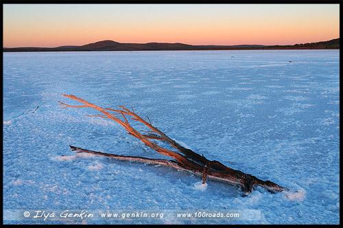 Озеро Гэднэ, Озеро Гарднер, Lake Gairdner, Аутбек Южной Австралии, Outback, Южная Australia, South Australia, Австралия, Australia