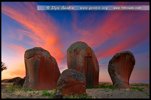 Murphy Haystacks, Полуостров Эйр, Eyre Peninsula, Южная Australia, South Australia, Австралия, Australia