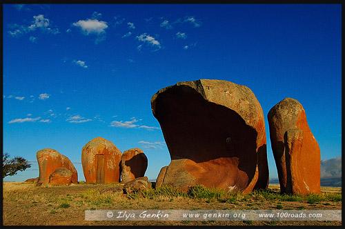 Стога Мерфи, Murphys Haystacks, Полуостров Эйр, Eyre Peninsula, Южная Australia, South Australia, Австралия, Australia