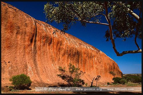 Скала Пилдаппа, Pildappa Rock, Полуостров Эйр, Eyre Peninsula, Южная Australia, South Australia, Австралия, Australia
