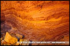Охровая стена, Ochre Wall, Аркарула, Arkaroola, Северная цепь гор Флиндерс, Northern Flinders Ranges, Аутбек, Аутбэк, Outback, Южная Australia, South Australia, Австралия, Australia