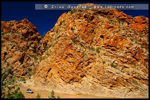 Ущелье Брачина, Brachina Gorge, Северная цепь гор Флиндерс, Northern Flinders Ranges, Аутбек, Аутбэк, Outback, Южная Australia, South Australia, Австралия, Australia