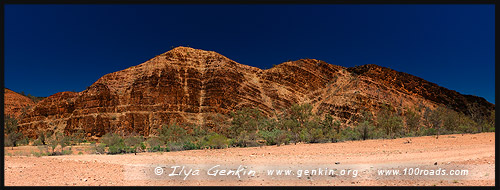 The Plaque, Аркарула, Arkaroola, Северная цепь гор Флиндерс, Northern Flinders Ranges, Аутбек, Аутбэк, Outback, Южная Australia, South Australia, Австралия, Australia