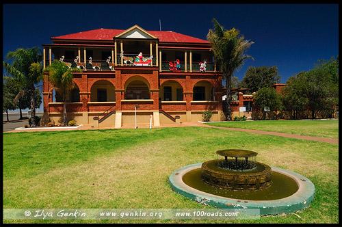 Местный музей, Кобар, Cobar, Новый Южный Уэльс, New South Wales, NSW, Австралия, Australia