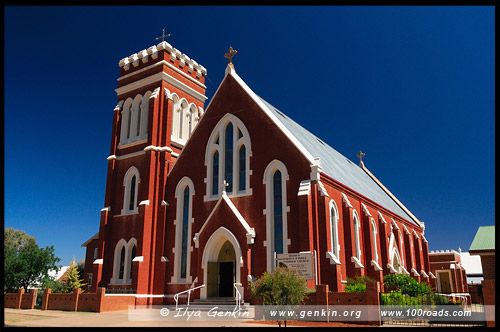 St Lawrence O Toole Catholic Church, Кобар, Cobar, Новый Южный Уэльс, New South Wales, NSW, Австралия, Australia
