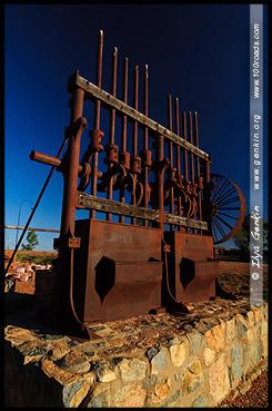 Скульптура, Кобар, Cobar, Новый Южный Уэльс, New South Wales, NSW, Австралия, Australia