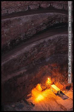 Золотая шахта. Въезд, Новый Кобарский Карьер, New Cobar Open Cut Gold Mine, Кобар, Cobar, Новый Южный Уэльс, New South Wales, NSW, Австралия, Australia