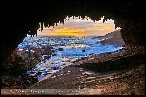 Адмиральская арка, Admirals Arch, Остров Кенгуру, Kangaroo Island, Южная Австралия, South Australia, Австралия, Australia