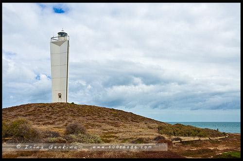 Маяк мыса Джервис, Cape Jervis Lighthouse, Южная Австралия, South Australia, Австралия, Australia