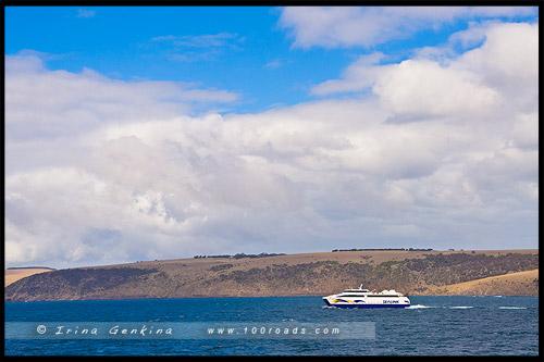 Паром Sealink, Остров Кенгуру, Kangaroo Island, Южная Австралия, South Australia, Австралия, Australia