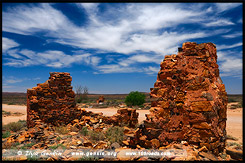 Руины Ваукaринги, Waukaringa Ruin, Южная Australia, South Australia, Австралия, Australia