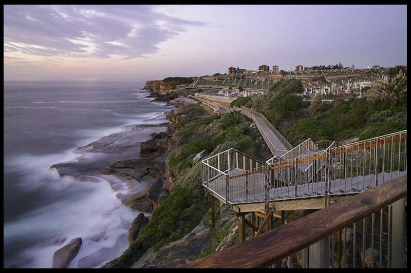 От Бондая до Бронти, Bondi to Bronte, Восточные пляжи, East Beaches, Сидней, Sydney, Новый Южный Уэльс, New South Wales, Австралия, Australia