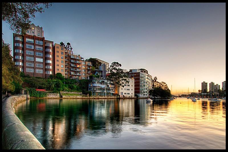Rushcutters Bay, Сидней, Sydney, Австралия, Australia