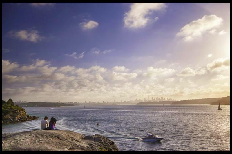 Sydney Harbour Bridge to South Head, Сидней, Sydney, Австралия, Australia