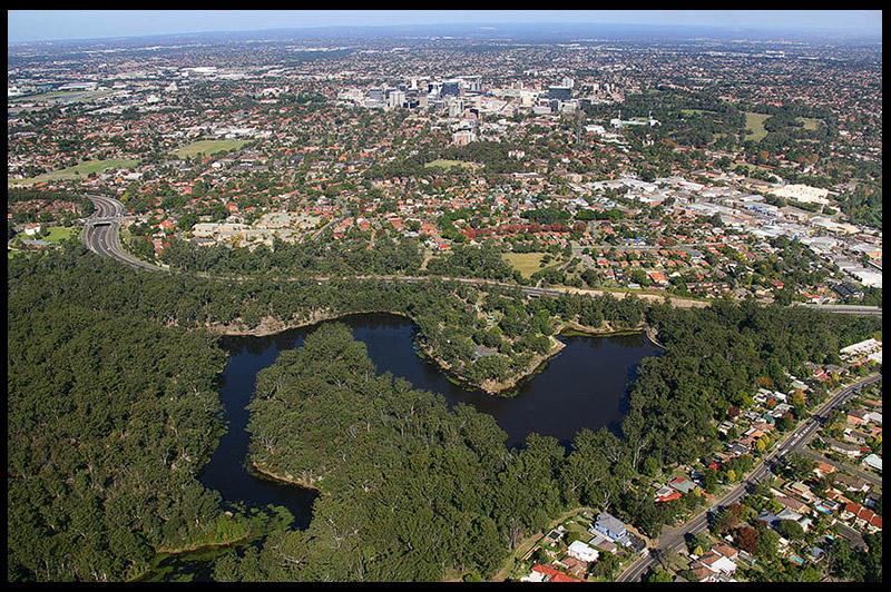 Озеро Парраматта, Lake Parramatta, Сидней, Sydney, Австралия, Australia