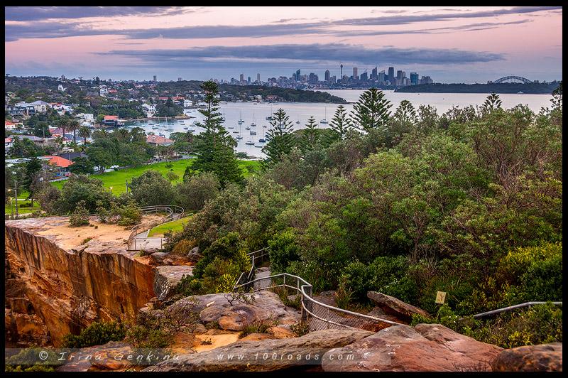 The Gap, Вотсонс Бэй, Watsons Bay, South Head, Сидней, Sydney, Австралия, Australia